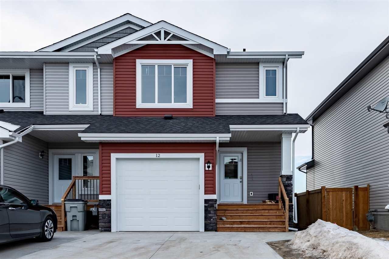 Townhouse for sale at 5309 49 Av NW Unit 12 Calmar Alberta - MLS: E4213414