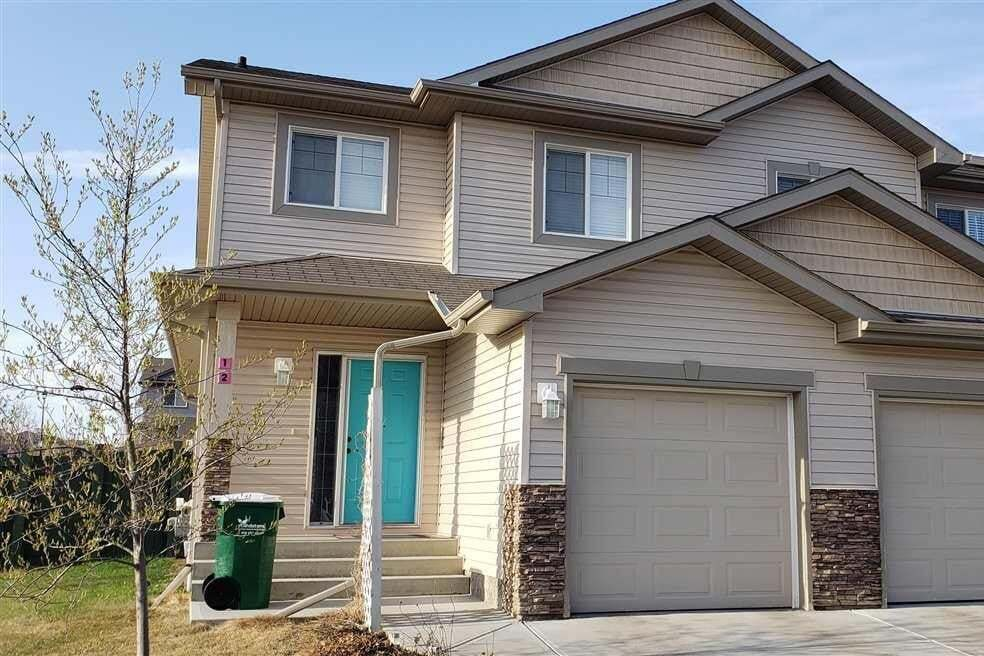 Townhouse for sale at 85 Spruce Village Dr W Unit 12 Spruce Grove Alberta - MLS: E4196245