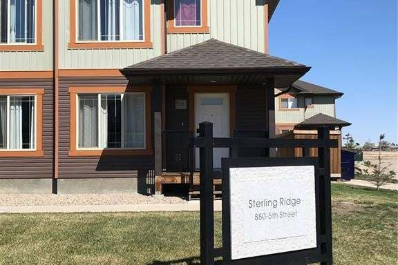 Townhouse for sale at 880 5th St NE Unit 12 Weyburn Saskatchewan - MLS: SK808527