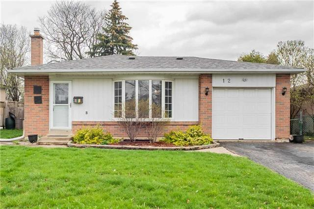 Sold: 12 Belmont Drive, Brampton, ON