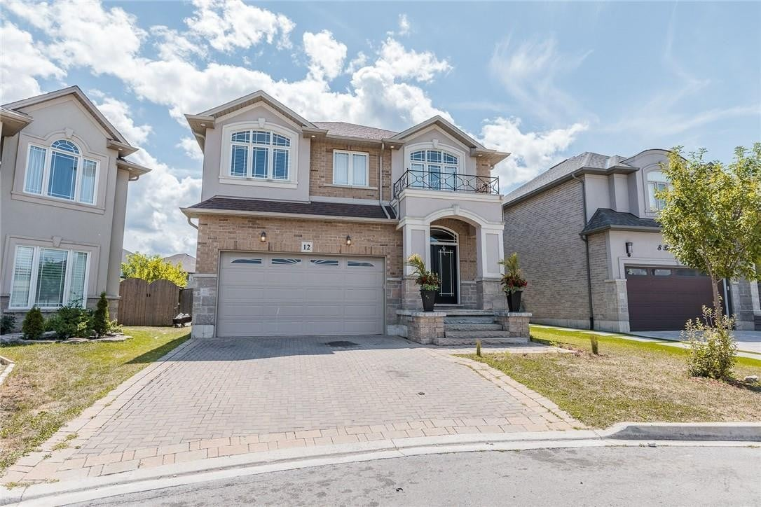 House for sale at 12 Bernini Ct Hamilton Ontario - MLS: H4084157