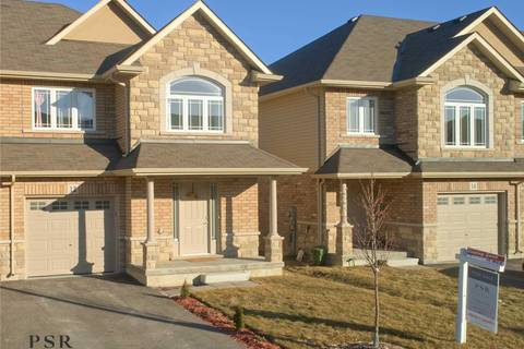 Townhouse for sale at 12 Bonhill Blvd Hamilton Ontario - MLS: X4392620