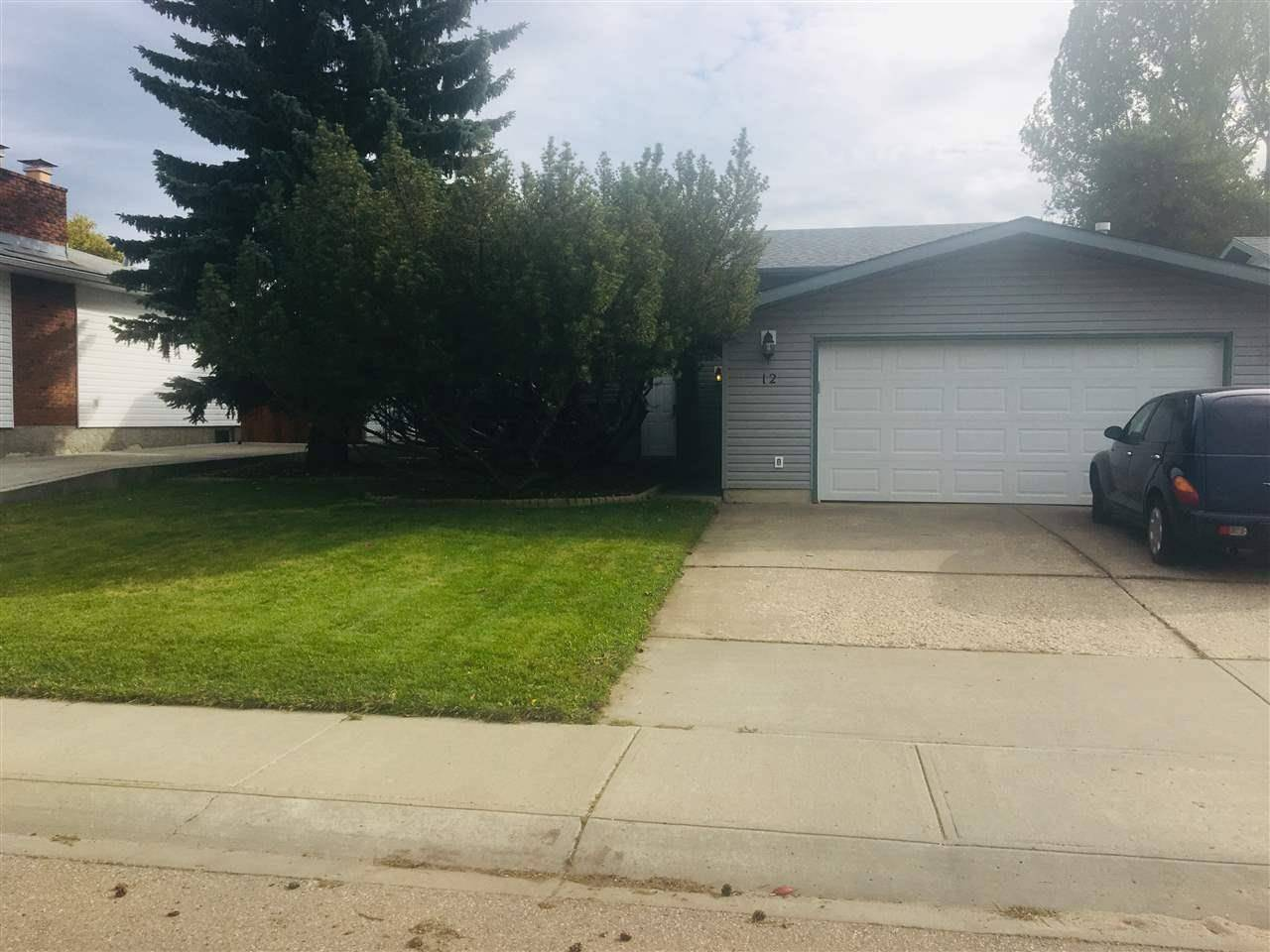 House for sale at 12 Bright Bank Ave Stony Plain Alberta - MLS: E4172750