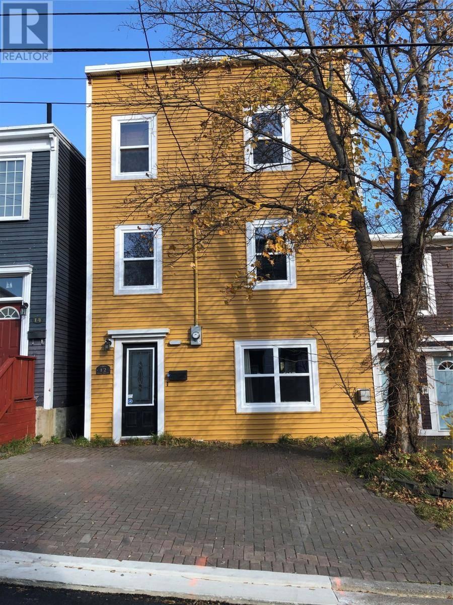 House for rent at 12 Brine St St. John's Newfoundland - MLS: 1207086