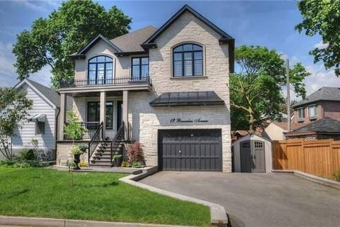 House for sale at 12 Brownlea Ave Toronto Ontario - MLS: W4443776