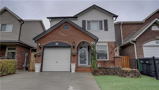 House for sale at 12 Buckland Way Brampton Ontario - MLS: W4298134