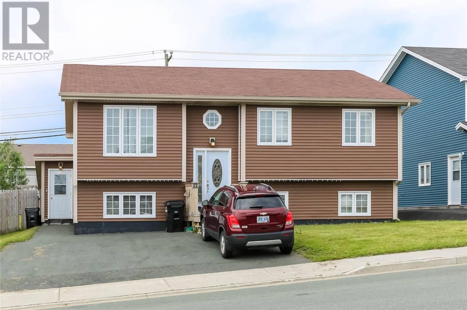 House for sale at 12 Caribou Pl St. John's Newfoundland - MLS: 1201026