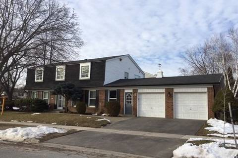 House for sale at 12 Chaldean St Toronto Ontario - MLS: E4684239