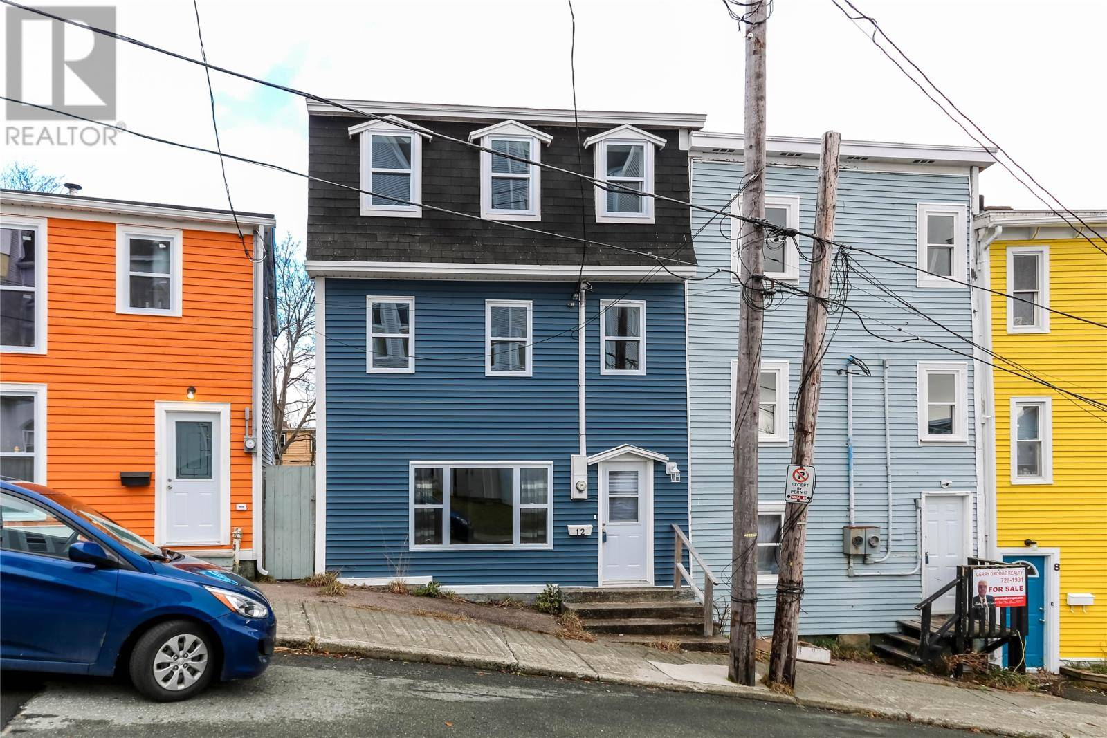 House for sale at 12 Chapel St St. John's Newfoundland - MLS: 1207496