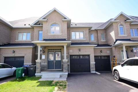 Townhouse for sale at 12 Cohoe St Brampton Ontario - MLS: W4918990
