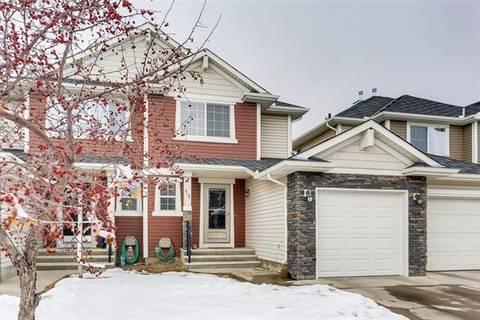 Townhouse for sale at 12 Cranberry Green Southeast Calgary Alberta - MLS: C4286947
