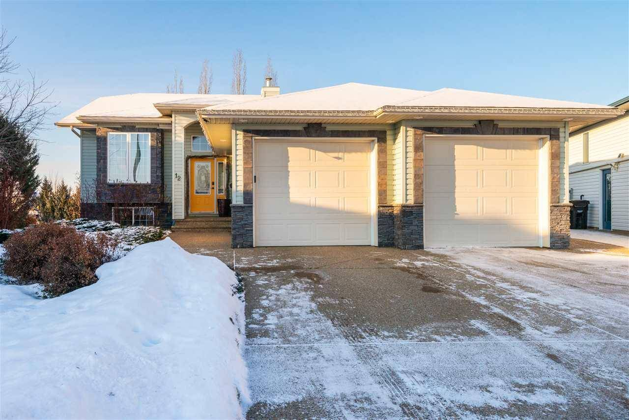 House for sale at 12 Deerfield Ct Spruce Grove Alberta - MLS: E4181676