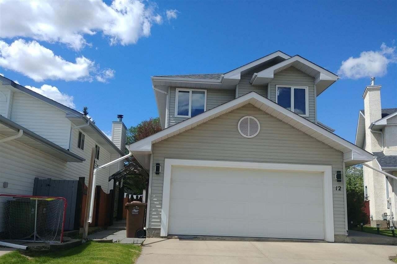 House for sale at 12 Delaney Pl St. Albert Alberta - MLS: E4198376
