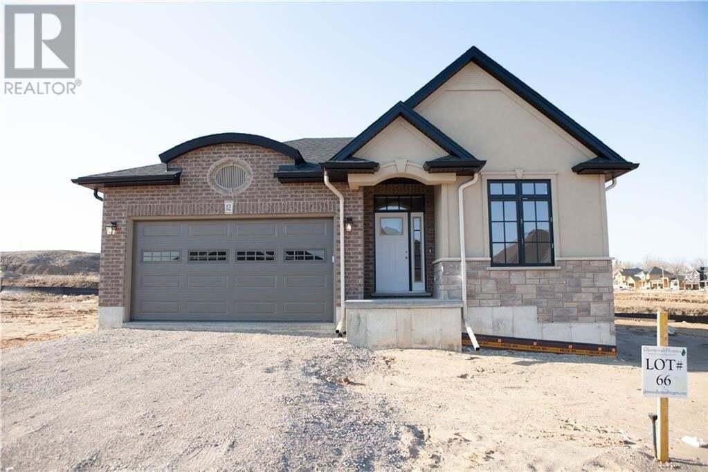 House for sale at 12 Edgar Pl Paris Ontario - MLS: 30793688