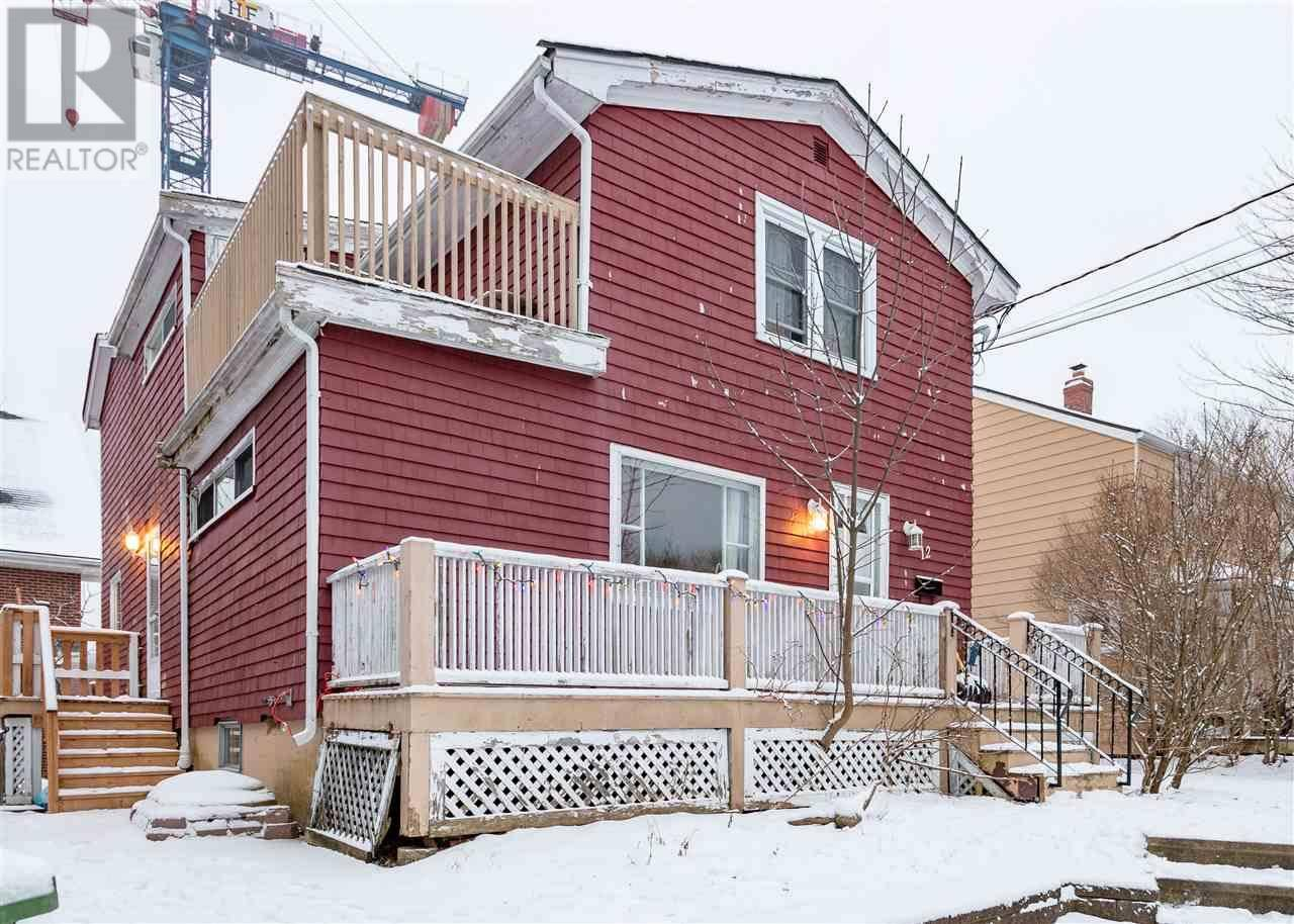 Townhouse for sale at 12 Frederick Ave Halifax Nova Scotia - MLS: 202000598