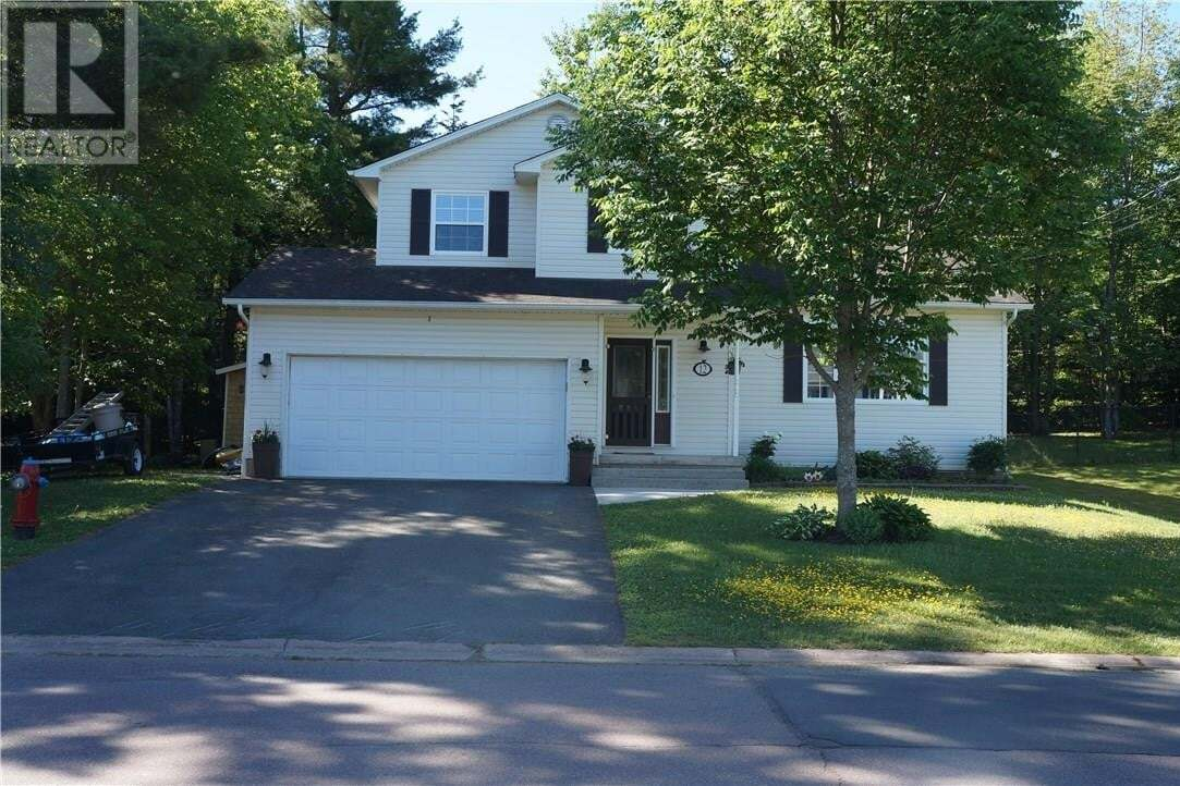 House for sale at 12 Glenforest Dr Riverview New Brunswick - MLS: M129148