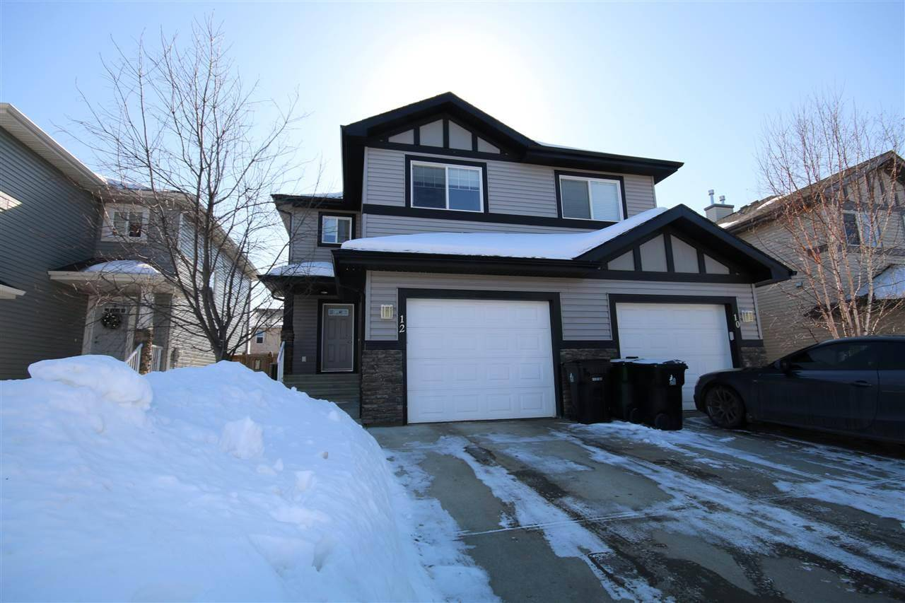 Townhouse for sale at 12 Hamilton Ct Spruce Grove Alberta - MLS: E4191621