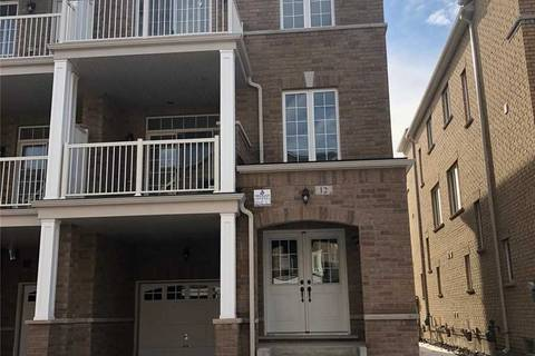 Townhouse for rent at 12 Haymarket Dr Brampton Ontario - MLS: W4691687