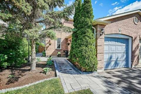 Townhouse for sale at 12 Hillhurst Cres Clarington Ontario - MLS: E4806496
