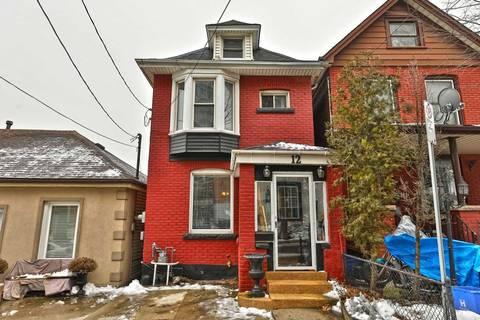 House for sale at 12 Inchbury St Hamilton Ontario - MLS: X4676535