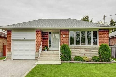 House for sale at 12 Koos Rd Toronto Ontario - MLS: W4481382