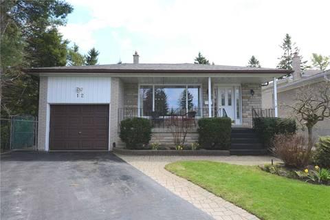 House for sale at 12 Lalton Pl Toronto Ontario - MLS: E4426950
