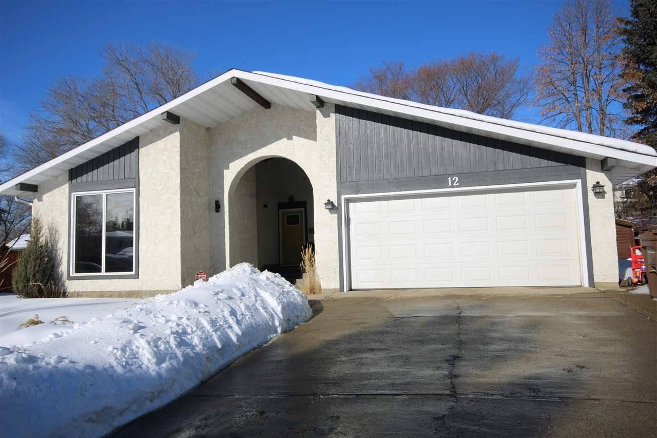 House for sale at 12 Laydon Dr St. Albert Alberta - MLS: E4189008