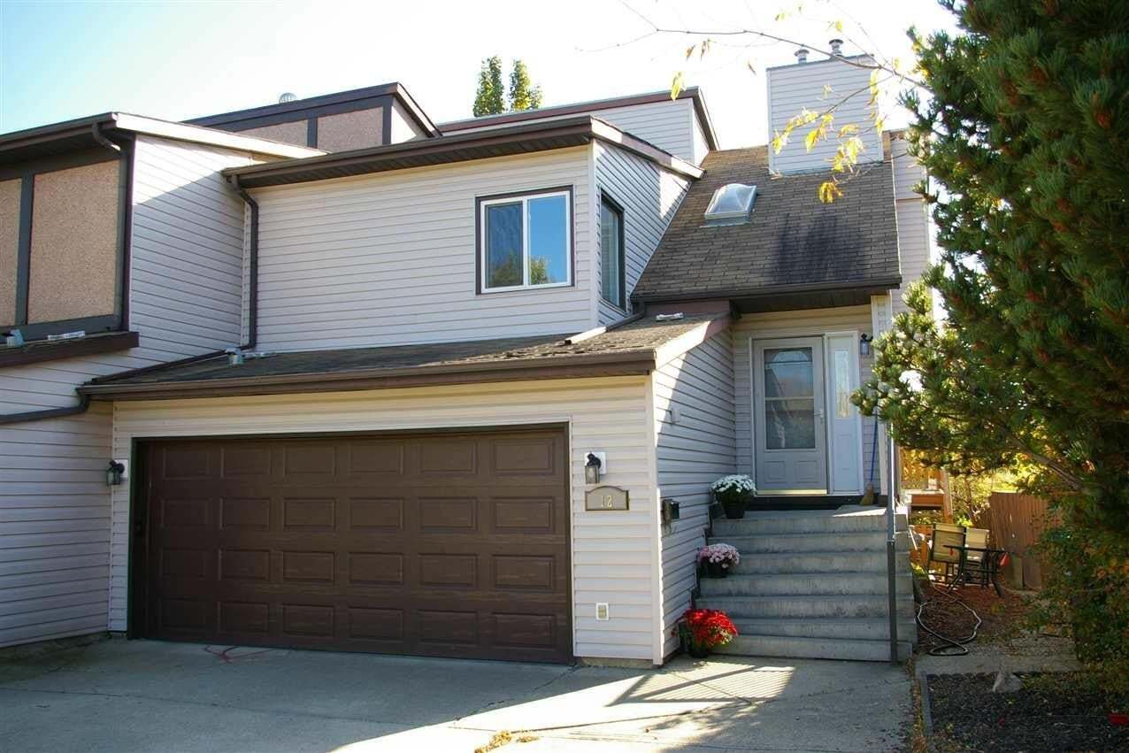 Townhouse for sale at 12 Louisbourg Pl St. Albert Alberta - MLS: E4218138