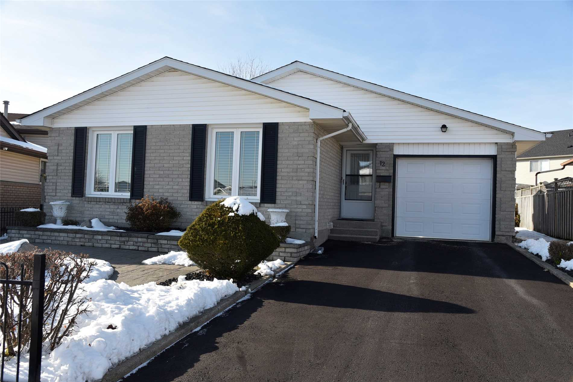 House for sale at 12 Macatee Place Cambridge Ontario - MLS: X4311269