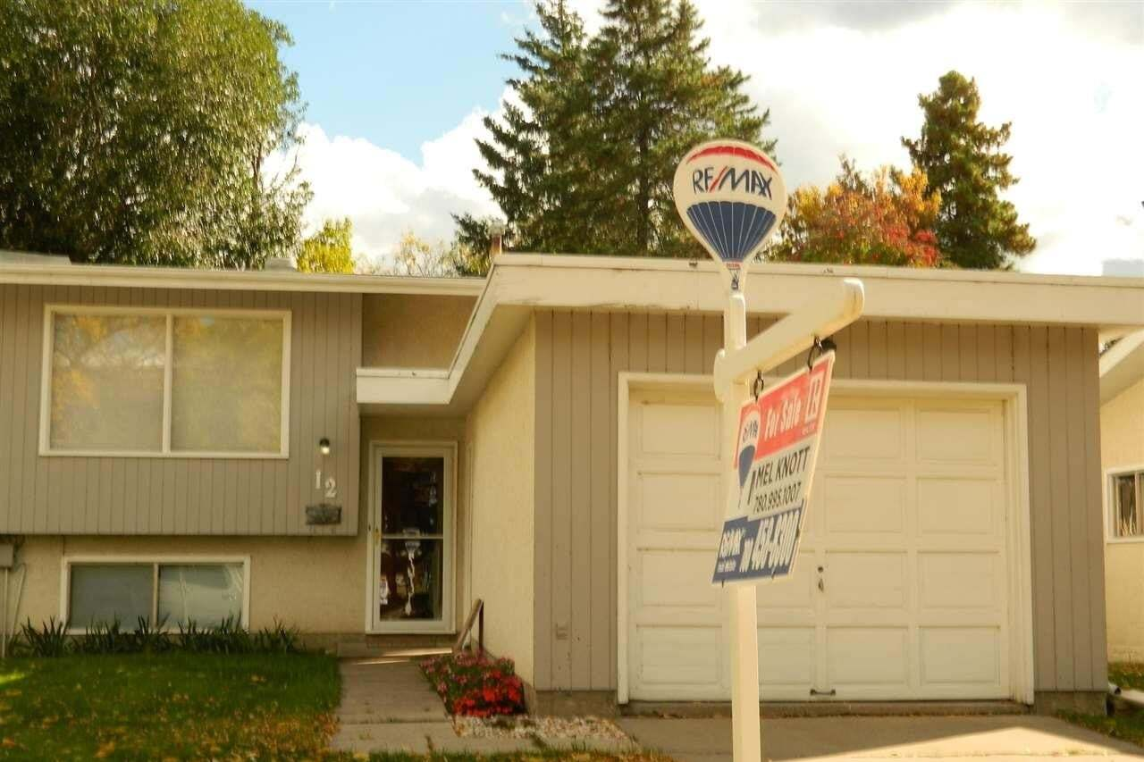 Townhouse for sale at 12 Marion Cr St. Albert Alberta - MLS: E4215581
