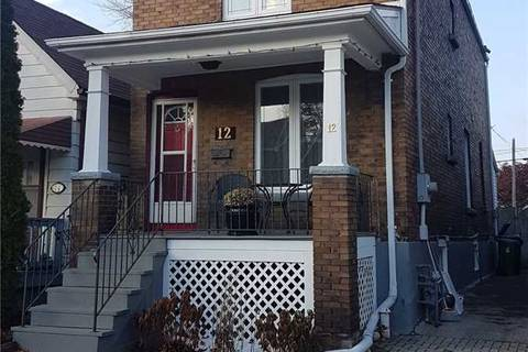 House for sale at 12 Morland Rd Toronto Ontario - MLS: W4638441