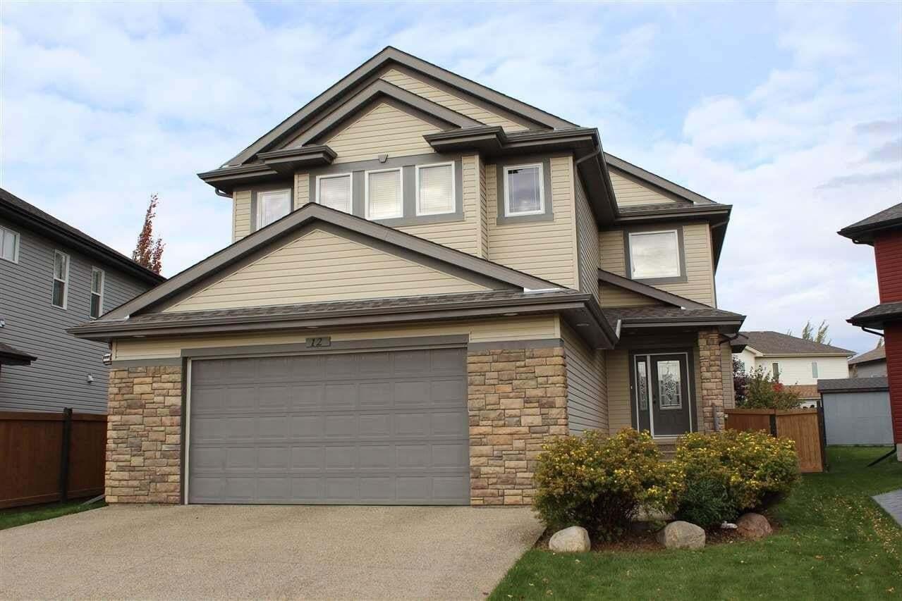 House for sale at 12 Newton Pl St. Albert Alberta - MLS: E4214671