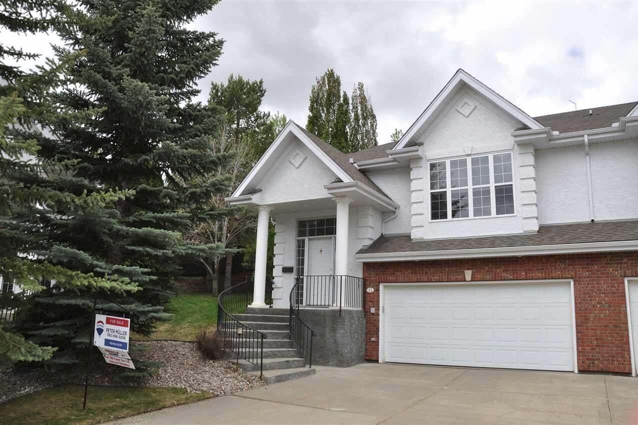Townhouse for sale at 12 Oakbay Pt St. Albert Alberta - MLS: E4199054