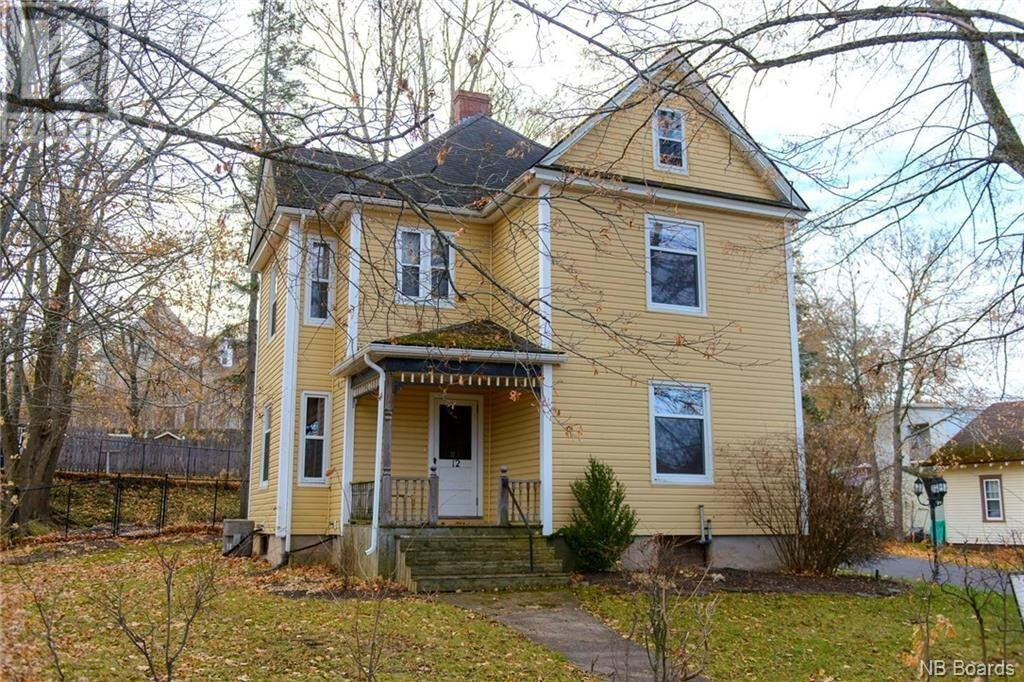 House for sale at 12 Oxford St Sussex New Brunswick - MLS: NB051020
