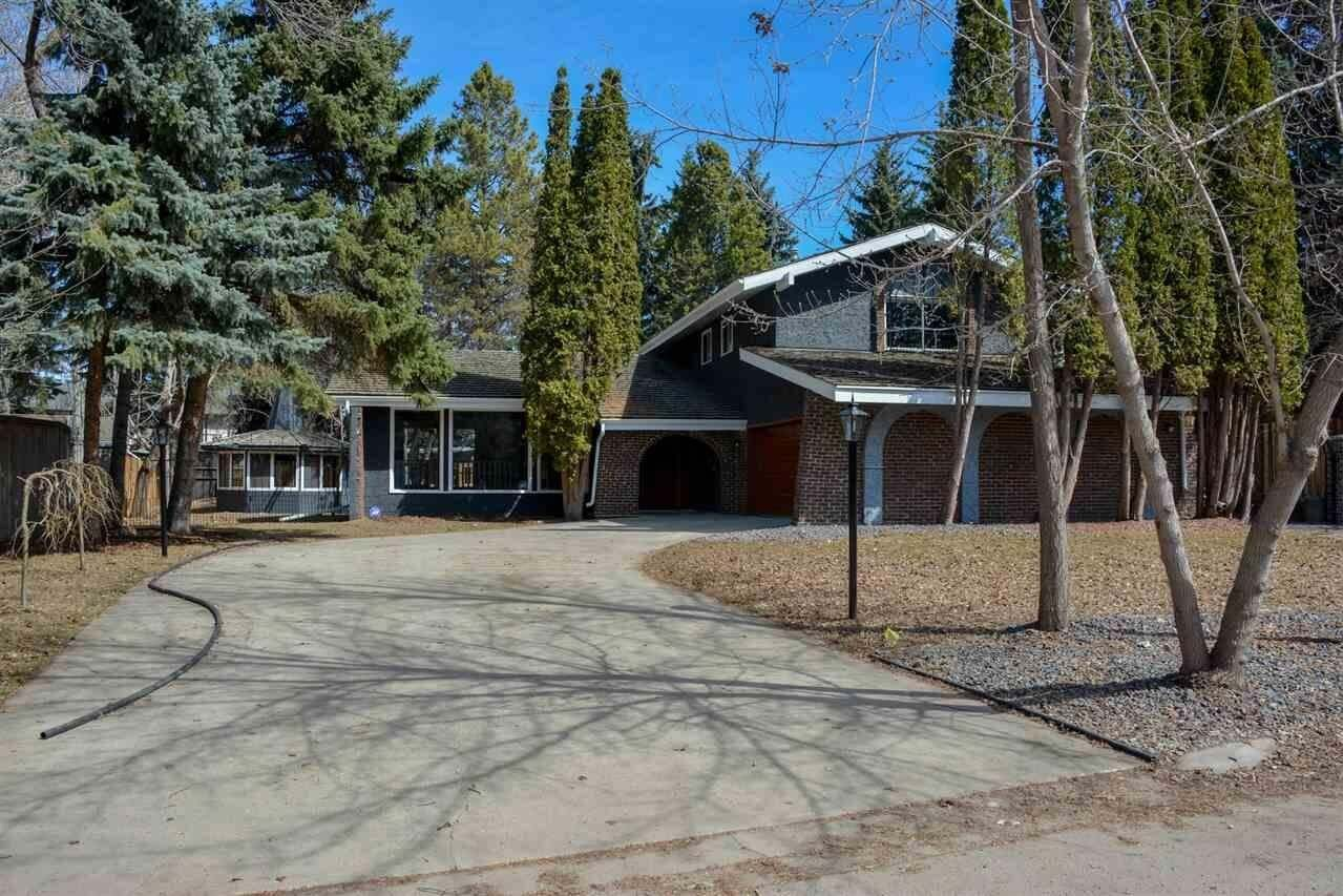 House for sale at 12 Quesnell Rd NW Edmonton Alberta - MLS: E4195503