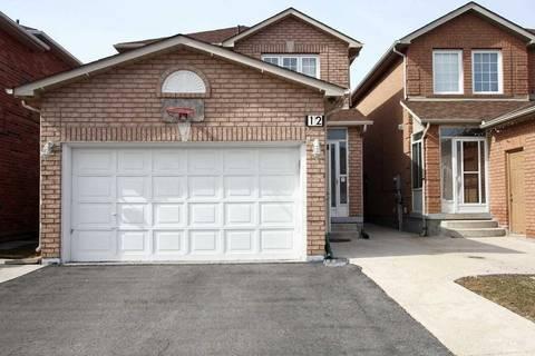 House for sale at 12 Rockford Run Rd Brampton Ontario - MLS: W4443213