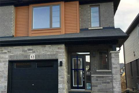 Townhouse for rent at 12 Rouley Ln Hamilton Ontario - MLS: X4666011