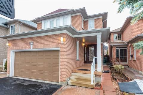 House for sale at 12 Siesta Ct Brampton Ontario - MLS: W4389382