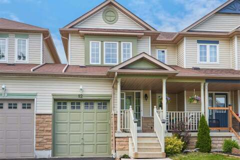 Townhouse for sale at 12 Sinden Dr Whitby Ontario - MLS: E4806567
