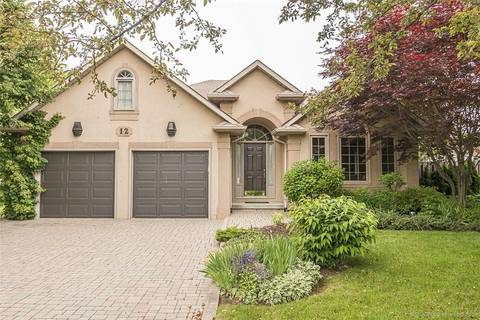House for sale at 12 Steeplechase Dr Ancaster Ontario - MLS: H4057762