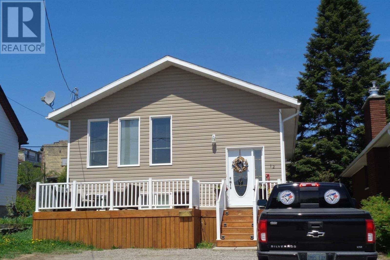 House for sale at 12 Taylor Ave Kirkland Lake Ontario - MLS: TM200850