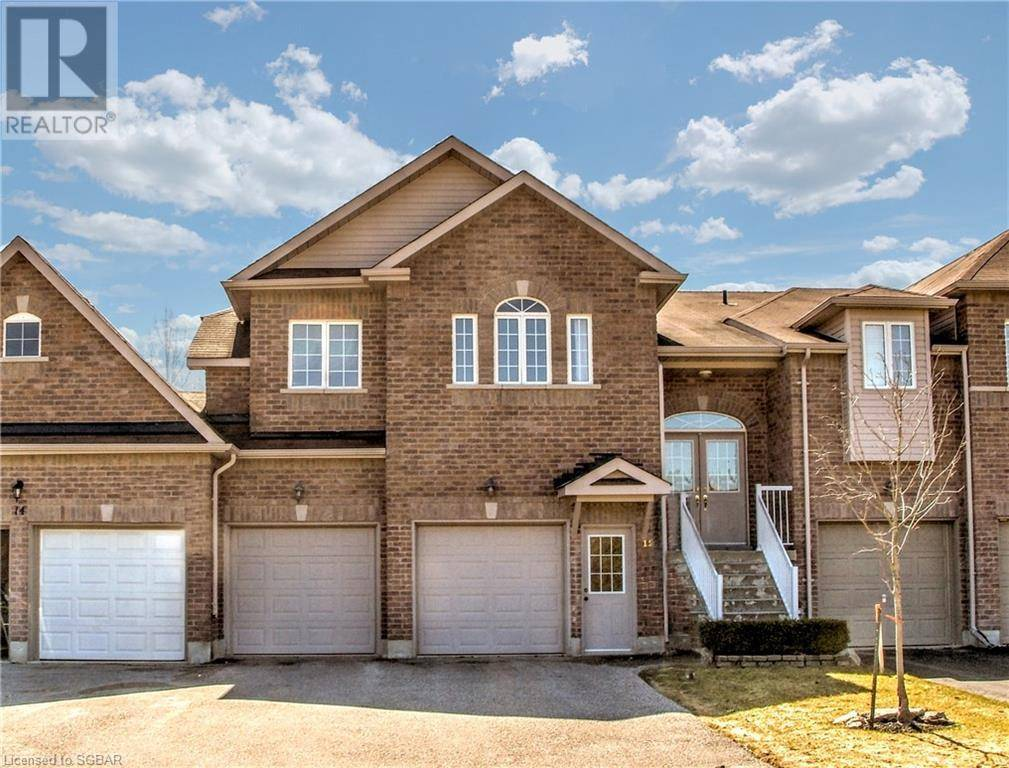 Townhouse for sale at 12 Thomas Dr Collingwood Ontario - MLS: 247945