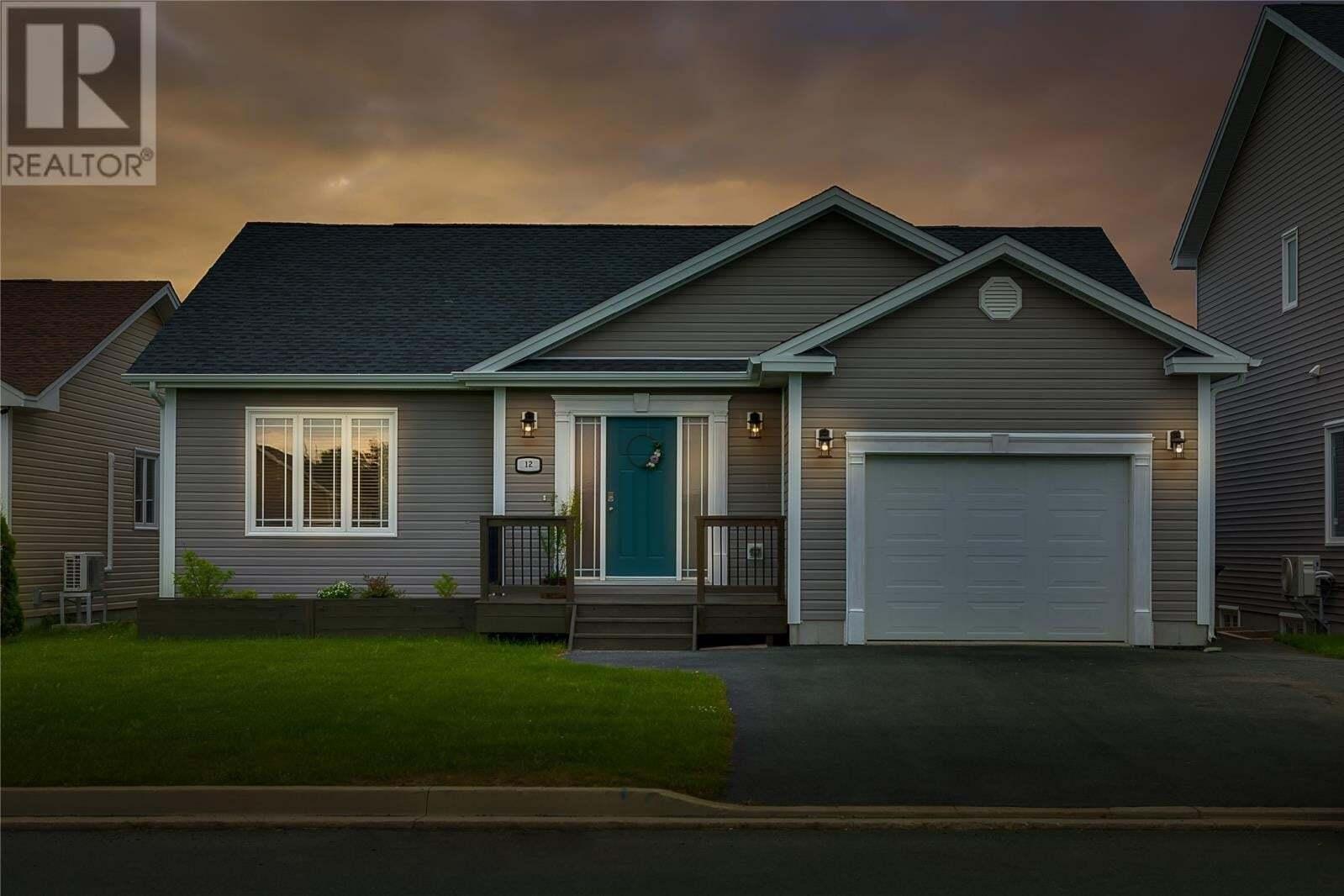 House for sale at 12 Tullamore St St. John's Newfoundland - MLS: 1222621