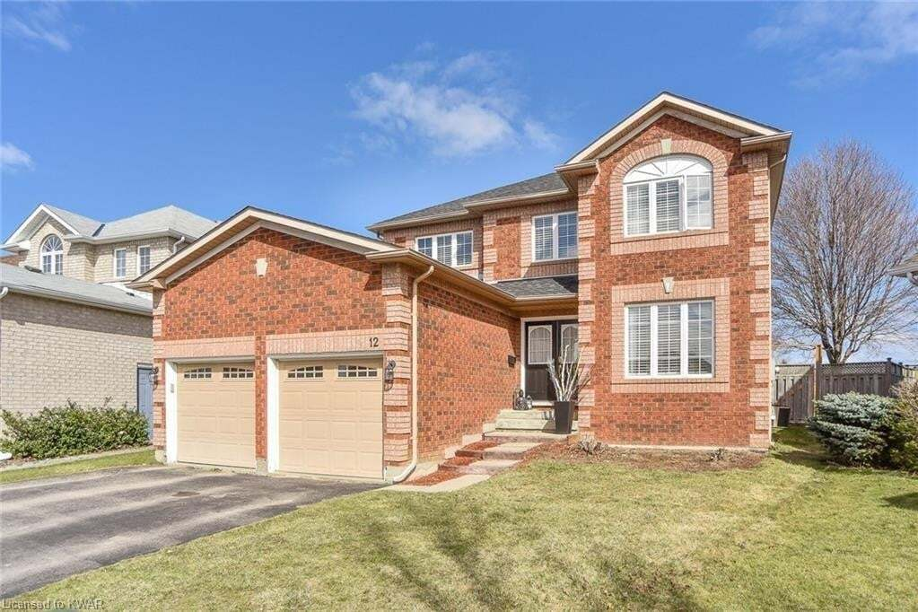 House for sale at 12 Wade Green Cambridge Ontario - MLS: 30824653