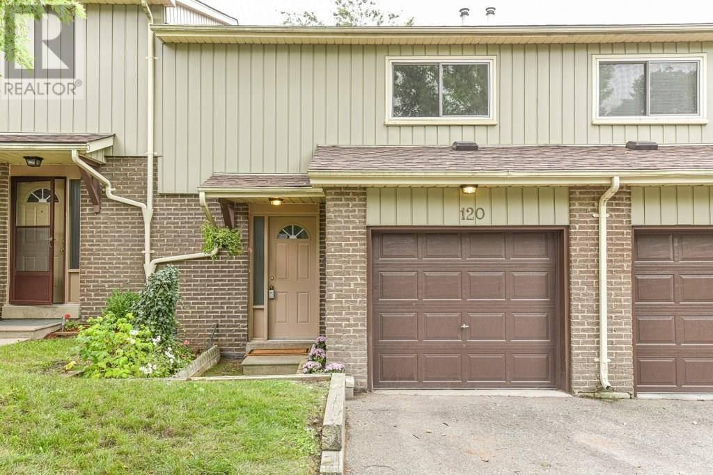 Townhouse for sale at 51 Paulander Dr Unit 120 Kitchener Ontario - MLS: 30766081