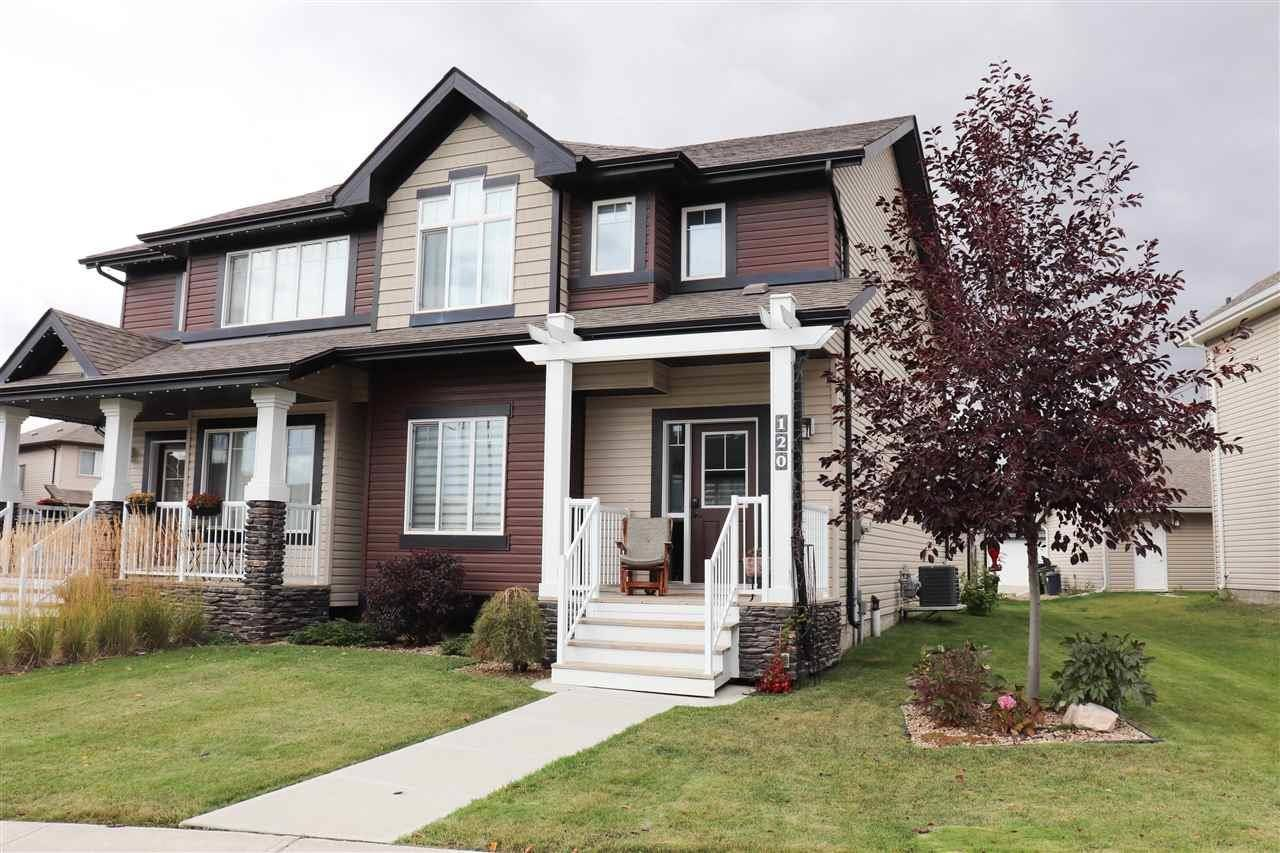 Townhouse for sale at 120 Cy Becker Blvd Nw Edmonton Alberta - MLS: E4175299