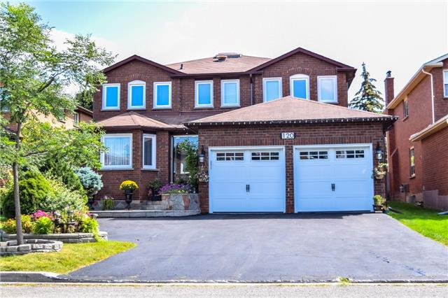 For Sale: 120 Lyndhurst Drive, Markham, ON | 4 Bed, 4 Bath House for $1,539,000. See 14 photos!