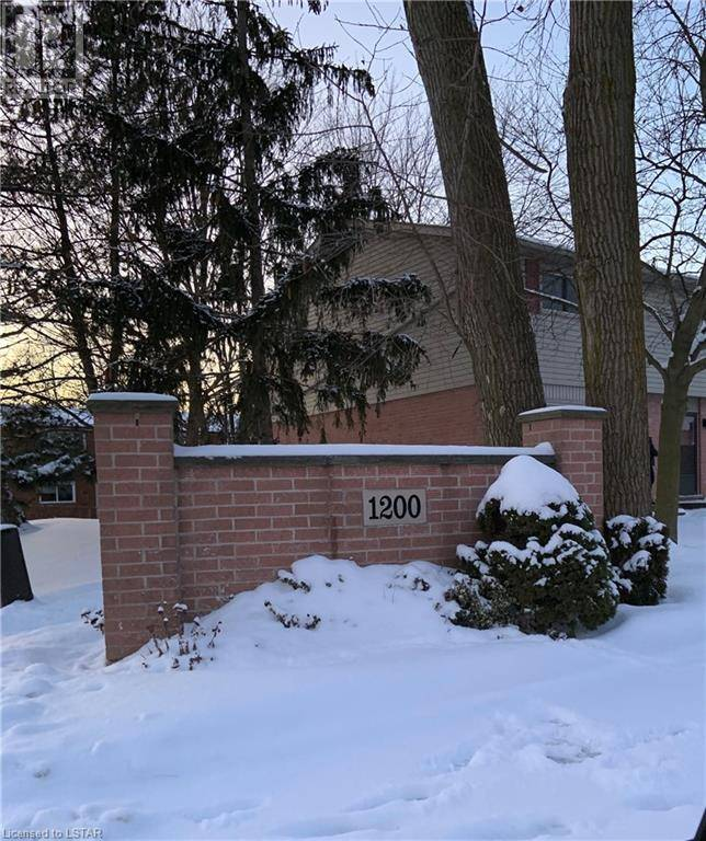 Townhouse for sale at 26 Cheapside St Unit 1200 London Ontario - MLS: 240921