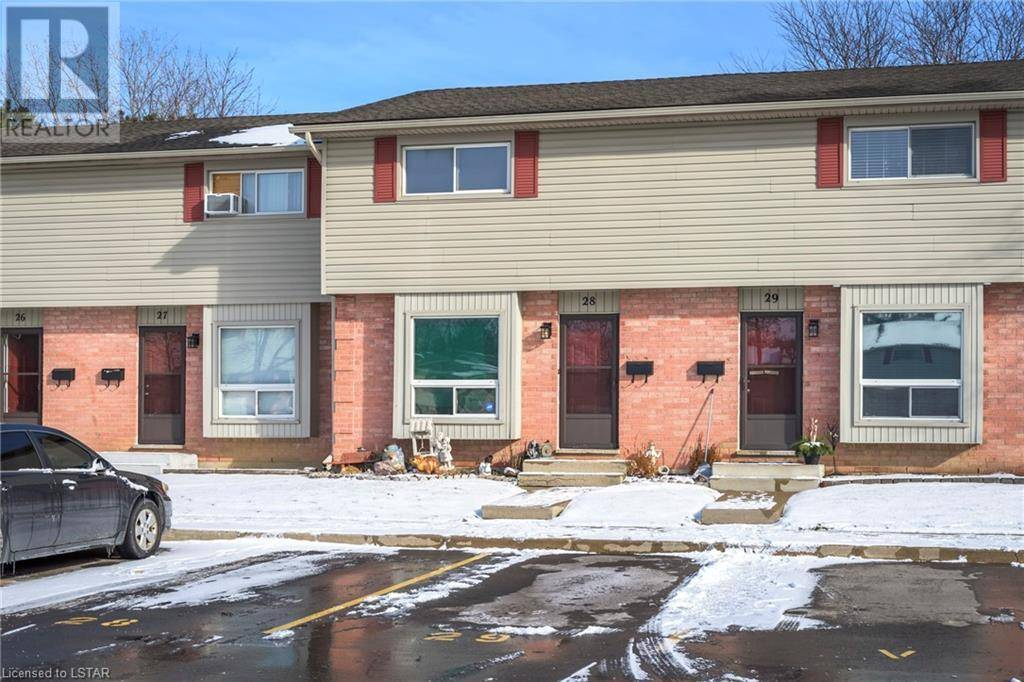 Townhouse for sale at 28 Cheapside St Unit 1200 London Ontario - MLS: 241067