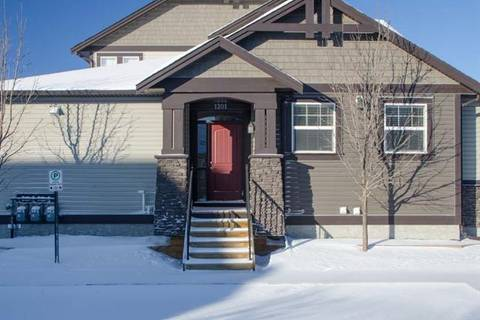Townhouse for sale at 110 Coopers Common Southwest Unit 1201 Airdrie Alberta - MLS: C4285815